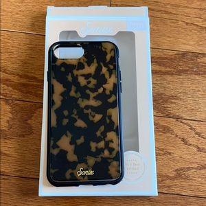 sonix brown tortoise phone case